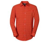 Jack Wolfskin: Herren Hemd Rays Flex Shirt, rot