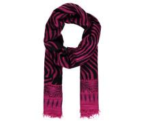 """Damen Kaschmirschal """"Zebra"""", pink"""