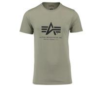 Herren T-Shirt, oliv