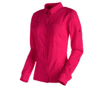 Damen Wanderbluse Trovat Advanced Longsleeve Shirt Women, pink