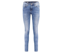 Damen Jeggings Como Skinny Fit, Blau
