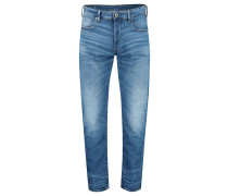 """Jeans """"3301 Straight Authentic Faded Blue"""" Straight Tapered Fit"""
