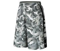 Herren Basketballshorts Elite Stripe Camo Short