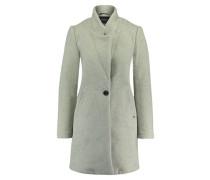 Damen Mantel, silber