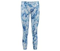 Damen Leggings Carribean Ink, Blau