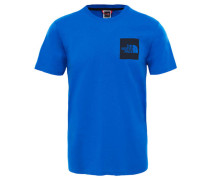 """Herren Shirt """"Fine"""" Kurzarm, blau"""
