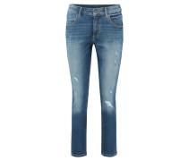 "Damen Jeans ""Theda"" Skinny Boyfriend Tapered, blue"