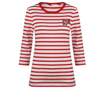 Damen Langarmshirt, Rot