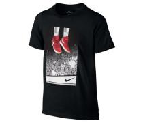 Boys Basketball T-Shirt NK Dry Tee Ss Liftoff, Schwarz