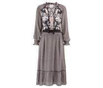 "Damen Kleid ""Ornapaisley"", marine"