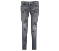Damen Jeans, Grau
