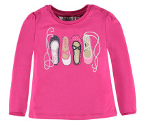 Mädchen Shirt Ballerina Girl Langarm verfügbar in Größe 7492