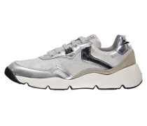 Damen Sneakers Space, Silber