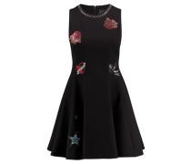 Damen Kleid Kaless, Schwarz
