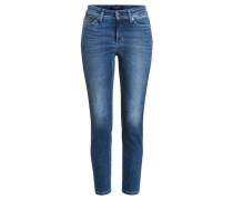 Damen Jeans Piper Short, Blau