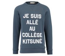 Herren Sweatshirt, Blau