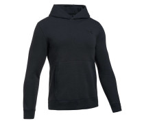 Herren Sweatshirt Threadborne Fleece Hoodie, Schwarz