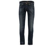 Herren Slim Fit Jeans Luke, Blau