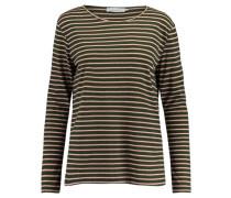 """Damen Shirt """"Nobel LS Stripe"""" Langarm, rose"""