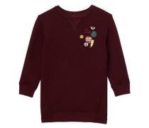 """Mädchen Sweatshirt """"Cherry"""" Dreiviertelarm, bordeaux"""