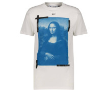 """T-Shirt """"Blue Mona Lisa"""""""