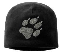 Unisex Mütze PAW HAT, schwarz