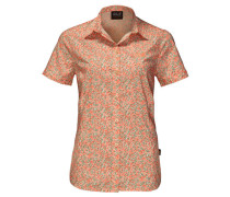 Damen Bluse Sonora Millefleur Shirt, Orange