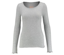 Damen Shirt Sally Langarm, Grau