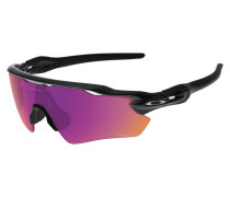 Sportbrille / Sonnenbrille Radar EV Path polished black / prizm trail