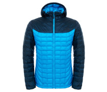 Herrren Outdoor-Steppjacke / Thermojacke mit Kapuze Thermoball Hoodie M, Blau