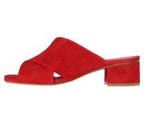 Damen Sandalette, bordeaux