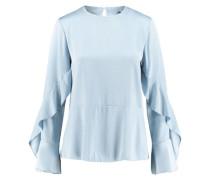 Damen Bluse Langarm, bleu