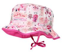 Mädchen Baby Hut, weiss