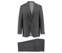 Herren Anzug Modern Fit zweiteilig, Grau