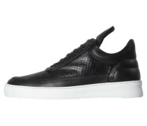 "Herren Sneakers ""Low Top Ripple"", schwarz"