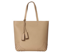 "Damen Shopper ""Wave"", taupe"