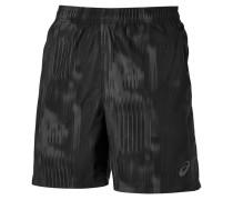 Herren Laufshorts FuzeX printed Shorts /grau Gr. SXLML