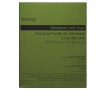 Pflegeset Geranium Leaf Duet - Reinigungsgel Geranium Leaf Body Balm und Körperbalsam Geranium Leaf Body Cleanser
