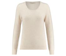 Damen Kaschmir-Pullover, offwhite