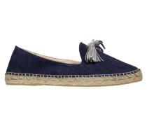 Damen Slipper/Loafer Pom Pom Gr. 373936