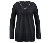 Damen Pullover - Plus Size, marine