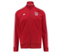 Herren Sweatjacke / Trainingsjacke FC Bayern München 3S TRK, Rot