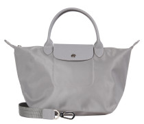 Longchamp: Damen Tasche Le Pliage Néo S, silber