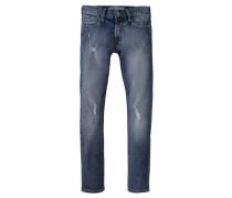 Jungen Jeans 520 Skinny-Fit, Blau