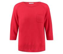Damen Kaschmir-Pullover, rot