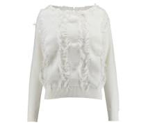 Damen Pullover, offwhite