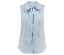 Damen Hemdbluse Ärmellos, Blau