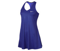 Damen Tenniskleid Court Pure Dress, Blau