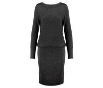 Damen Kleid Langarm, schwarz