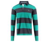 """Herren Poloshirt """"The Original Barstripe Heavy Rugger"""", smaragd"""